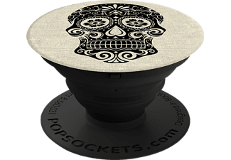 POPSOCKETS SUGARSKULL ON LINEN Phone Grip & Stand mehrfarbig