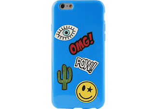 PURO Patch Mania Backcover Apple iPhone 6/iPhone 6S  Blau