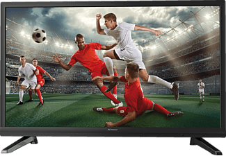 STRONG SRT24HZ4003N, 60 cm (24 Zoll), HD-ready, LED TV, 100 IQR, DVB-T2 HD, DVB-C, DVB-S, DVB-S2