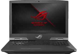 ASUS G703VI-E5089T, Gaming-Notebook mit 17.3 Zoll Display, Core™ i7 Prozessor, 32 GB RAM, 512 GB SSD, 512 GB SSD, GeForce GTX 1080, Silber