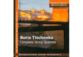 Tver Philharmonic String Quartet, Taneyev Quartet - Complete String Quartets - (CD)