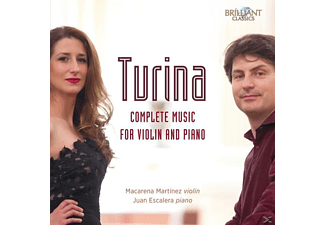 Macarena Martínez, Juan Escalera - Complete Music For Violin And Piano [CD]