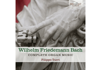 Filippo Turri - Complete Organ Music [CD]