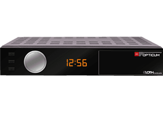 OPTICUM RED Sloth Combo Plus Combo Receiver (HDTV, Twin Tuner, DVB-T2 HD, DVB-C, DVB-C2, DVB-S, DVB-S2, Schwarz)