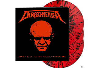 Dirkschneider - Live-Back To The Roots-Accepted! (Splatter 3LP) [Vinyl]