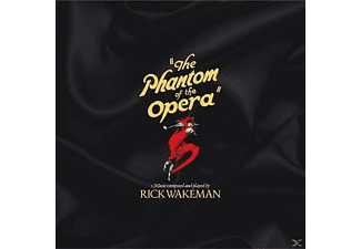 Rick Wakeman - The Phantom Of The Opera (Red & Yellow Vinyl) - (Vinyl)