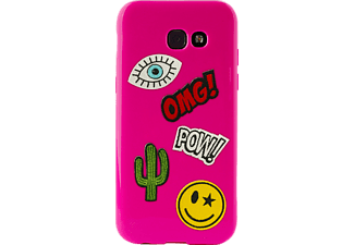 PURO Patch Mania Backcover Samsung Galaxy A5 2017  Pink
