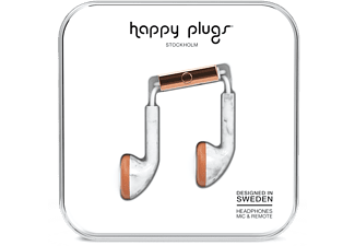 HAPPY PLUGS Earbud Deluxe Edition Carrara Marble