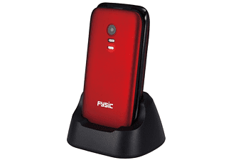 Fysic FM-9710 rood (Senioren)