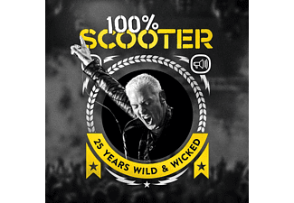Scooter 100% Scooter-25 Years Wild & Wicked (3CD-Digipak) Electronica/Dance CD