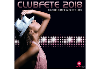 VARIOUS - Clubfete 2018 (63 Club Dance & Party Hits) - (CD)