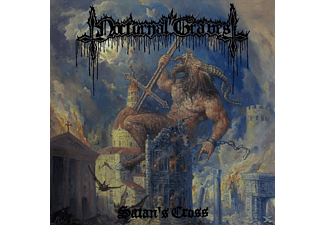 Nocturnal Graves - Satan's Cross (Black LP+10inch) - (Vinyl)