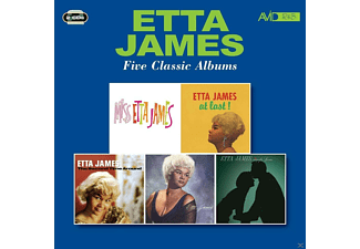 James Etta - Five Classic Albums - (CD)