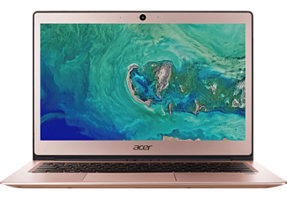 ACER Swift 1 (SF113-31-P2XU), Notebook mit 13.3 Zoll Display, Pentium® Prozessor, 4 GB RAM, 64 GB eMMC, HD-Grafik 505, Rosé