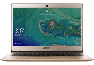ACER Swift 1 (SF113-31-P1YS), Notebook mit 13.3 Zoll Display, Pentium® Prozessor, 4 GB RAM, 64 GB eMMC, HD-Grafik 505, Gold
