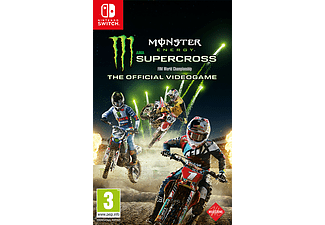 Square Enix Monster Energy Supercross: The Official Videogame Nintendo Switch (SWITCHSUPERCROSSFRNL)