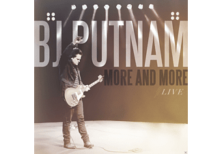 BJ Putnam - More And More - (CD)