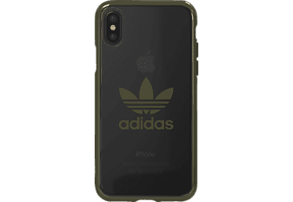 ADIDAS Originals Clear Case iPhone X Handyhülle, Grün