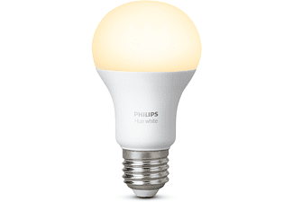 PHILIPS HUE Single Pack E27 (warm wit licht)