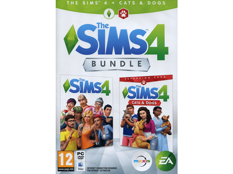 The Sims 4 Plus Cats & Dogs Bundle PC gaming games pc games