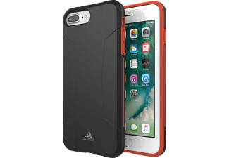 ADIDAS Solo Case iPhone 6+/6s+/7+/8+ Handyhülle, Schwarz/Rot