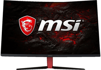 MSI Optix AG32C Curved, Gaming Monitor mit 80 cm / 31.5 Zoll Full-HD Display, 1 ms Reaktionszeit, Anschlüsse: 1x DisplayPort, 1x HDMI, 1x DVI