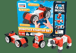 TINKERBOTS Tinkerbots Robotics Starter Set Baukastensystem, Mehrfarbig