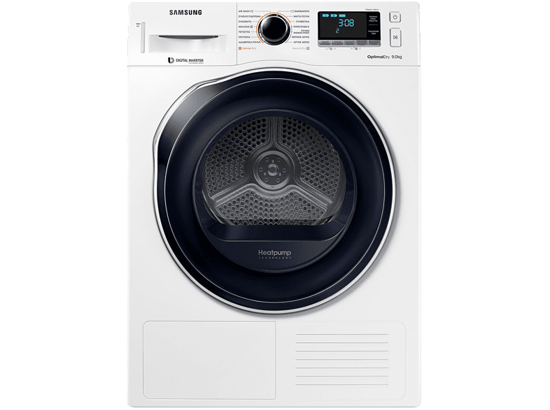 SAMSUNG DV90M6200CW/LV οικιακές συσκευές στεγνωτήρια στεγνωτήρια ρούχων