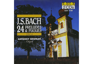 Anthony Newman - 24 Präludien und Fugen,Vol.2 - (CD)