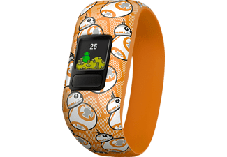 GARMIN  VIVOFIT JR 2 STAR WARS BB-8, Fitness Tracker, 130 - 175 mm, Silikon, Orange/Bunt