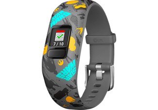 GARMIN  VIVOFIT JR 2 STAR WARS THE RESISTANCE, Fitness Tracker, 130 - 175 mm, Silikon, Grau/Bunt