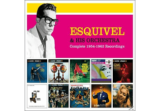 Esquivel & His Orchesta - Complete 1954-1962 Recordings [CD]