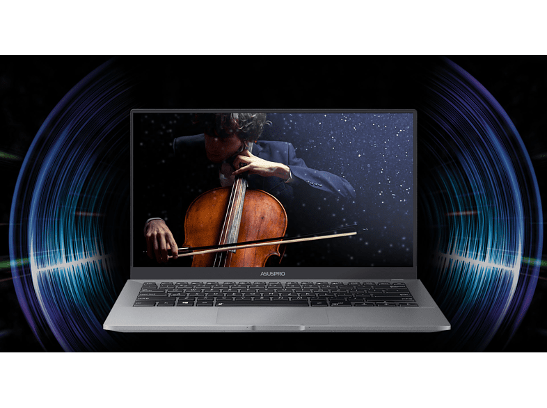 "ASUS AsusPro B9440UA-GV0205T szürke notebook (14"" Full HD matt/Core i7/8GB/512GB SSD/Windows 10)"