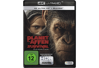 Planet der Affen: Survival - (4K Ultra HD Blu-ray)