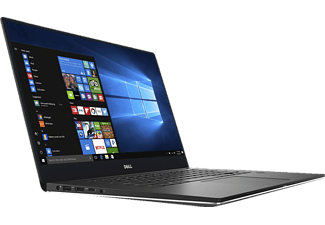 DELL XPS 15-9560, Notebook mit 15.6 Zoll Display, Core™ i5 Prozessor, 8 GB RAM, 128 GB SSD, 1 TB HDD, GeForce GTX 1050, Silver