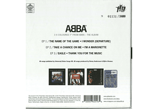 "ABBA - The Singles  (Ltd.,3 X 7"" Coloured Vinyl Box) [Vinyl]"