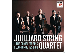 Juilliard String Quartet - Juilliard String Quartet-Compl.EPIC Recordings - (CD)