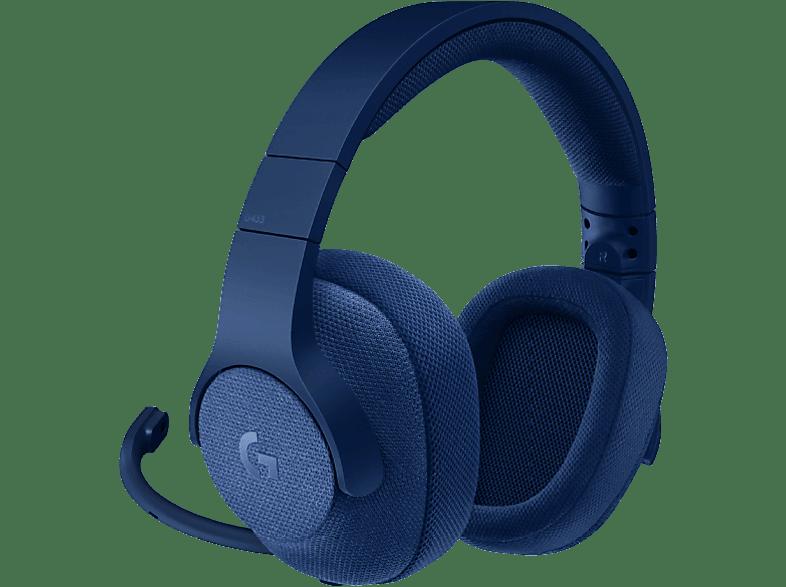 LOGITECH G433 Gaming Headset Blue gaming απογείωσε την gaming εμπειρία ακουστικά gaming