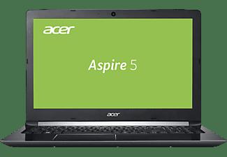 ACER Aspire 5 (A515-51G-85RF), Notebook mit 15.6 Zoll Display, Core™ i7 Prozessor, 8 GB RAM, 256 GB SSD, 2 TB HDD, GeForce® MX150, Schwarz
