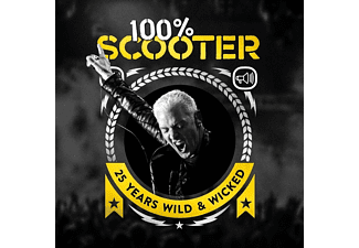 Scooter - 100% Scooter-25 Years Wild&Wicked (CD)