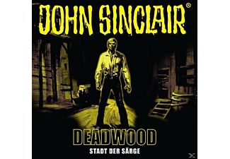 John Sinclair-deadwood - John Sinclair: Deadwood . Stadt der Särge (11) - (CD)