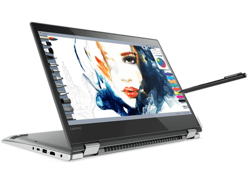 "LENOVO Yoga 520 2in1 eszköz 80X8010PHV (14"" FullHD IPS matt touch/Core i3/4GB/128GB SSD/Windows 10)"