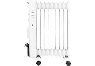 SUNTEC 13836 Heat Safe 2000 humid, Radiator, Weiß