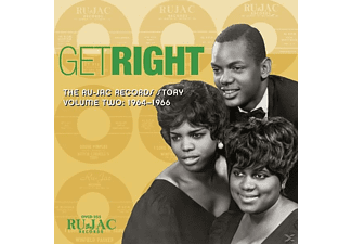 VARIOUS - Get Right:The Ru-Jac Records Story,Vol.2 - (CD)
