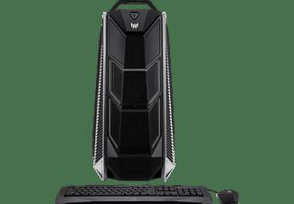 ACER Predator Orion 9000, Gaming PC mit Core™ i9 Prozessor, 16 GB RAM, 256 GB SSD, 1 TB HDD, GeForce® GTX 1080, 8 GB GDDR5X Grafikspeicher