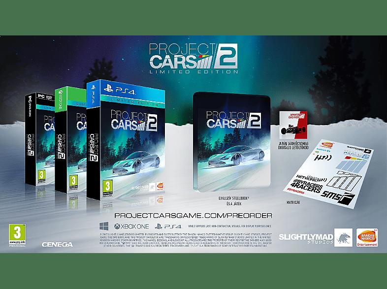 Project Cars 2 Limited Edition - MediaMarkt Magyarország