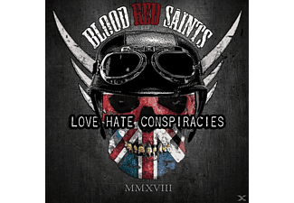 Blood Red Saints - Love Hate Conspiracies - (CD)