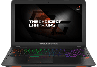 ASUS GL553VD-FY074T, Gaming Notebook mit 15.6 Zoll Display, Core™ i7 Prozessor, 8 GB RAM, 1 TB HDD, 256 GB SSD, GeForce® GTX 1050, Schwarz