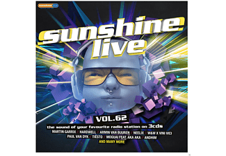 VARIOUS - Sunshine Live 62 - (CD)