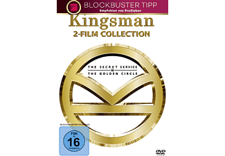Kingsman 1+2 - (DVD)